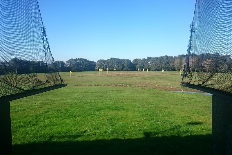 ニュージーランドの打ちっぱなし練習場(ドライビングレンジ) 2