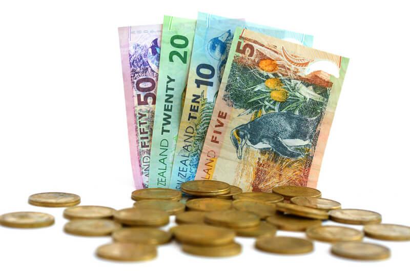 ニュージーランドのお金 紙幣と硬貨、チップについて 1