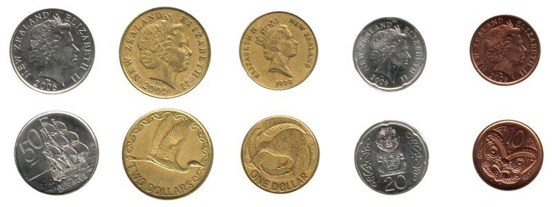 ニュージーランドのお金 紙幣と硬貨、チップについて 2