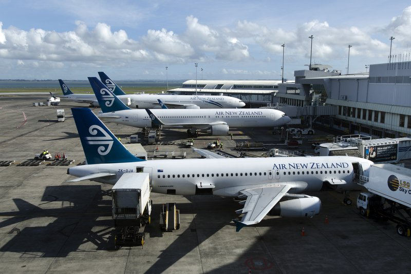 ニュージーランド オークランド空港