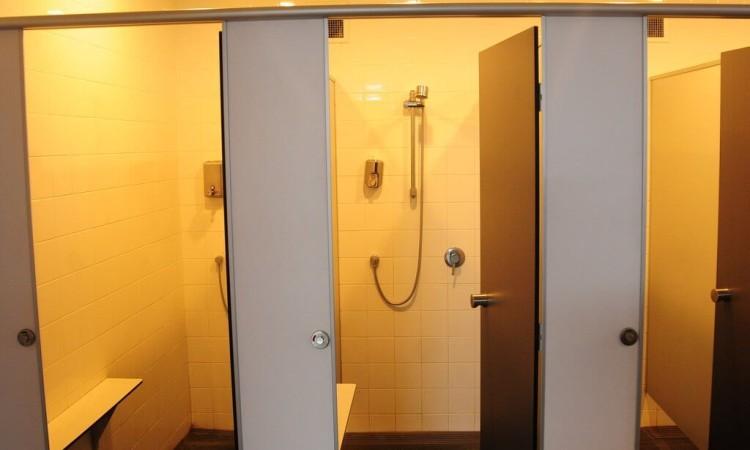 大浴場ではなくシャワー設備