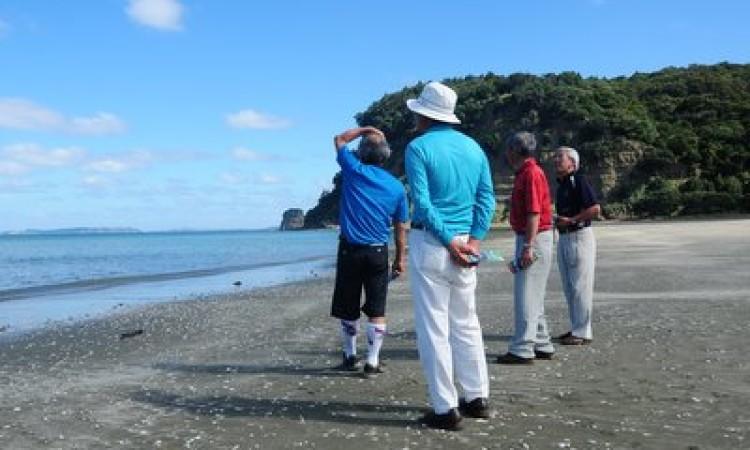 楽しいゴルフと観光ができたこと、一同感謝しております。
