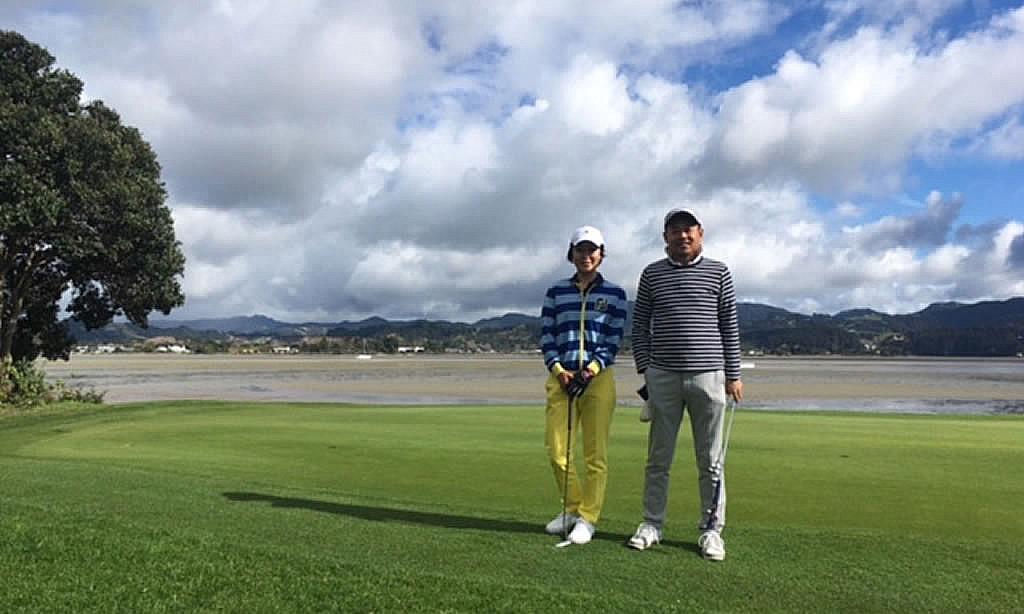 冬の終わりのニュージーランドでゴルフ。暑い日本を脱出して大正解!!