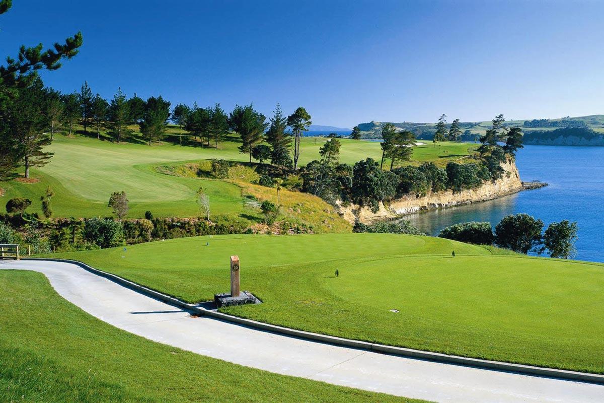ニュージーランド ゴルフ場 ガルフハーバーカントリークラブ