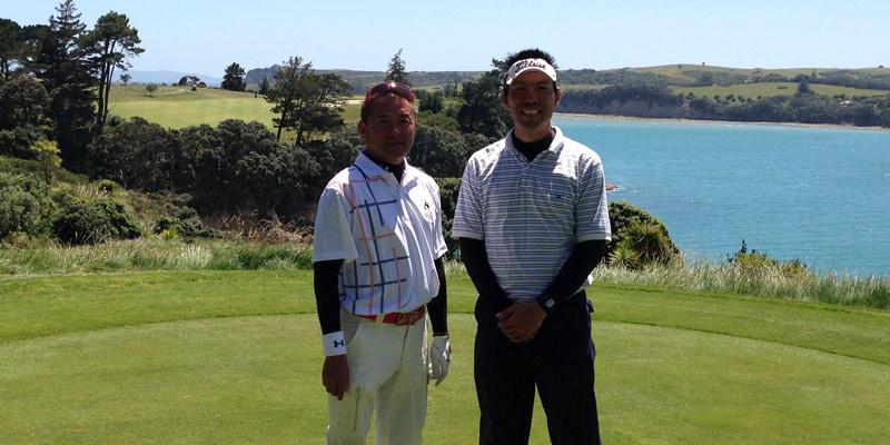 ニュージーランド ゴルフ 同行プレー