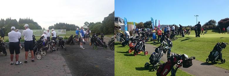 ニュージーランド ゴルフの特徴 カート 2