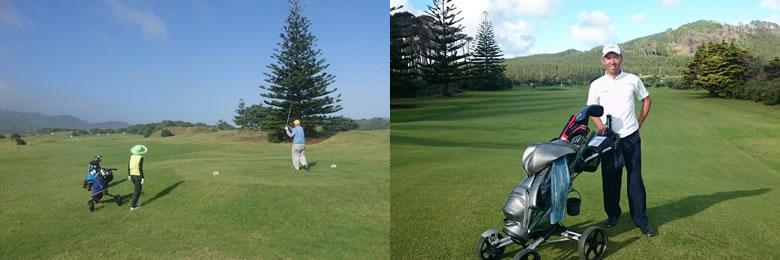 ニュージーランド ゴルフの特徴 カート 5