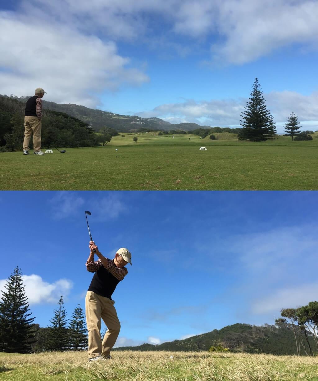 ニュージーランド ゴルフ 旅 感想 コメント 071b