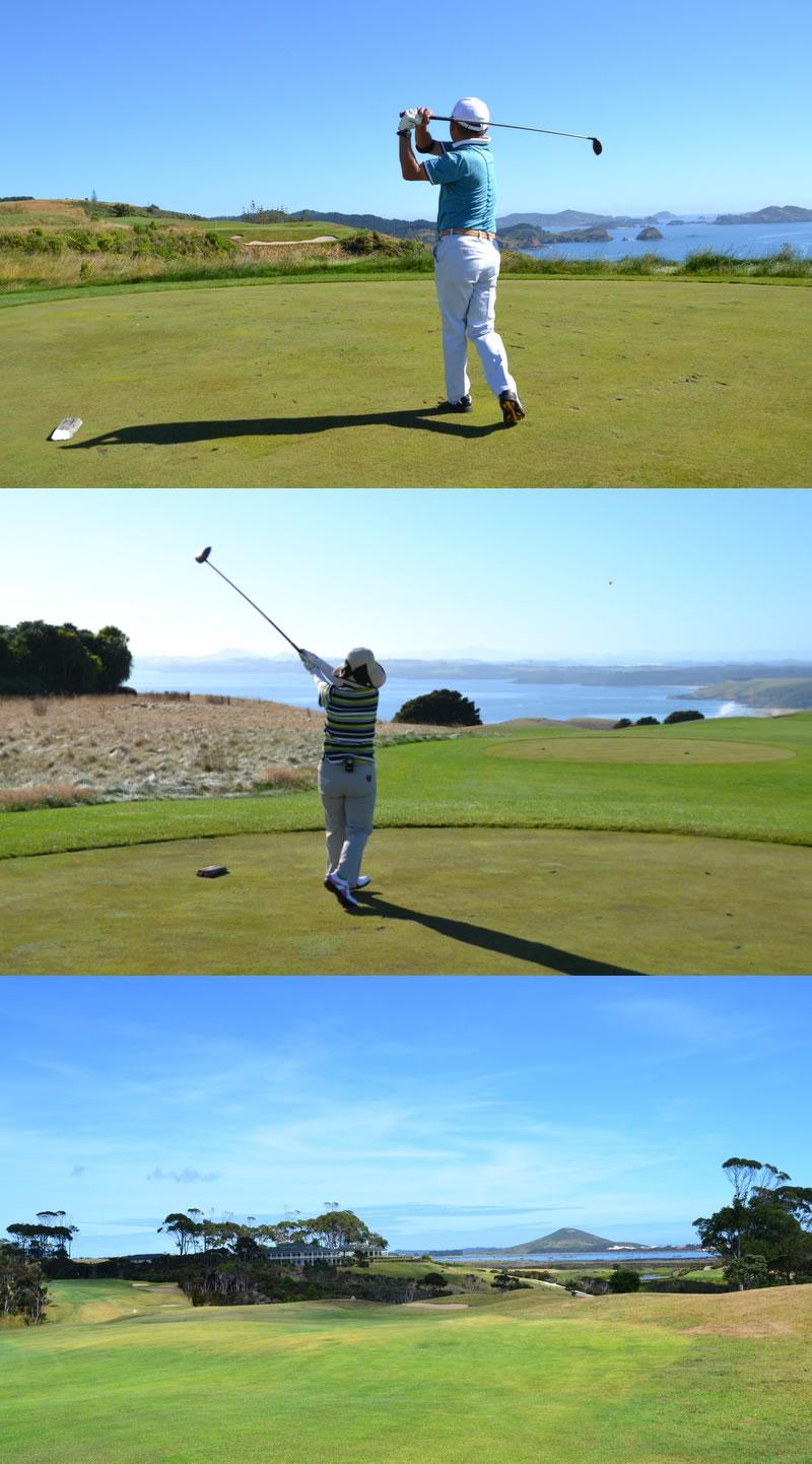 ニュージーランド ゴルフ 旅 感想 コメント 076b
