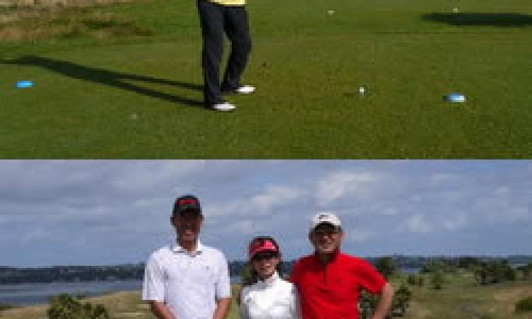 久しぶりに懐かしい友に会ったような、素晴らしい同伴者とのゴルフは何より楽しい。