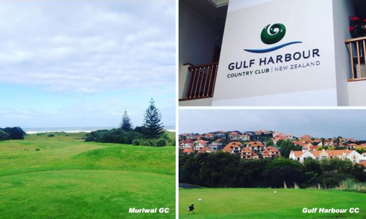 佐井さんとのゴルフが快適すぎて、2度目のニュージーランド訪問でご一緒してもらいました!