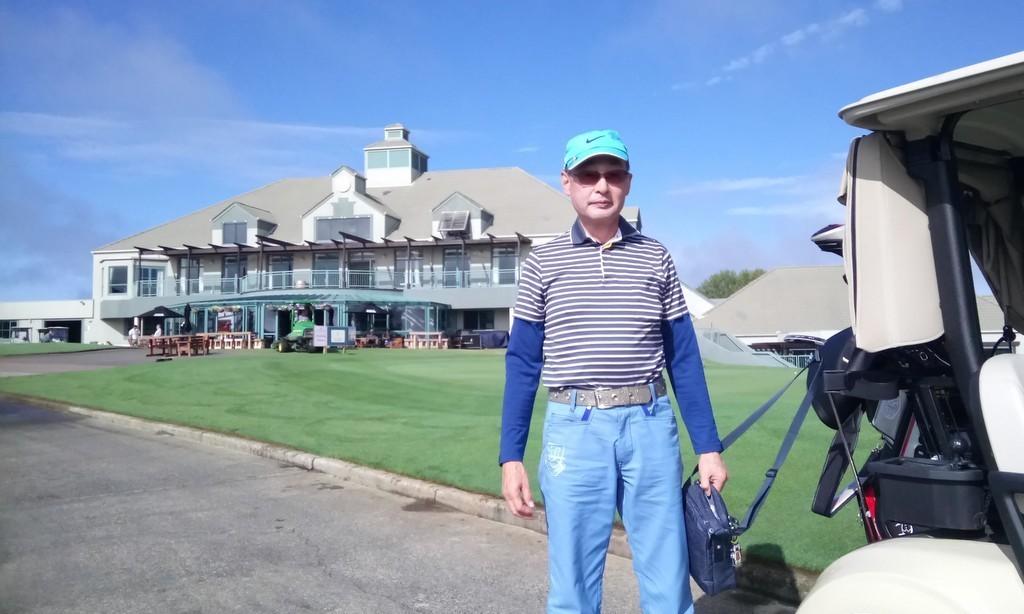 ご紹介いただいたガルフハーバーはいいゴルフ場でした!