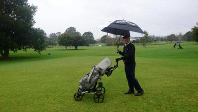 ニュージーランド ゴルフの特徴 雨のゴルフ