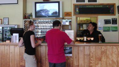 ニュージーランド ゴルフの特徴 カフェ