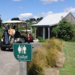 ニュージーランド ゴルフの特徴 トイレ