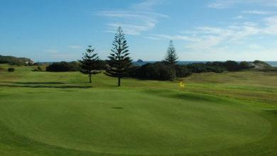 ニュージーランド ムリワイゴルフ場