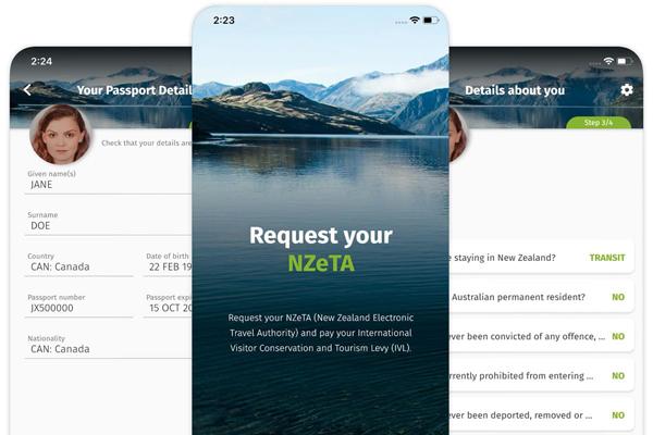ニュージーランド 入国 観光 NZeTA 2