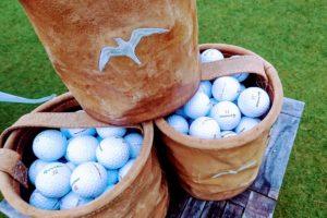ニュージーランド ゴルフ スタート前練習