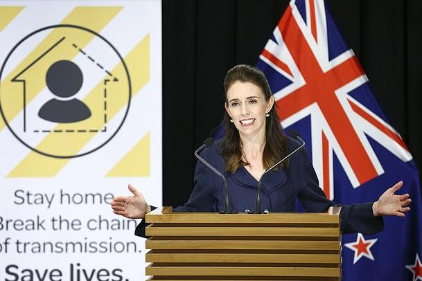 ニュージーランド 新型コロナウイルス アーダーン首相 2