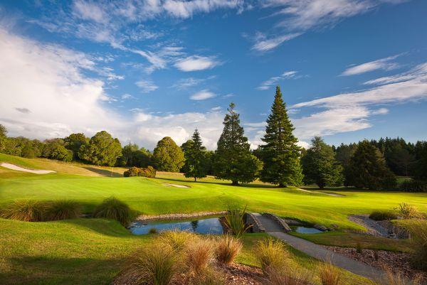ニュージーランド ワイラケイゴルフ&サンクチュアリ ゴルフコース(ゴルフ場)