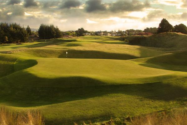 ニュージーランド パラパラウムビーチ ゴルフコース(ゴルフ場)