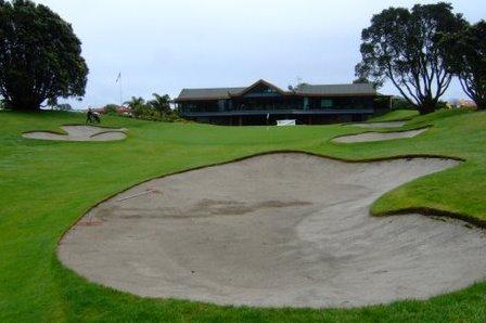 ニュージーランド マウントマウンガヌイ ゴルフクラブ(ゴルフ場)